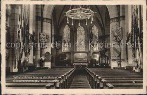 AK / Ansichtskarte Wilhelmshaven Inneres der Marine Gedaechtniskirche Garnisonkirche Kat. Wilhelmshaven