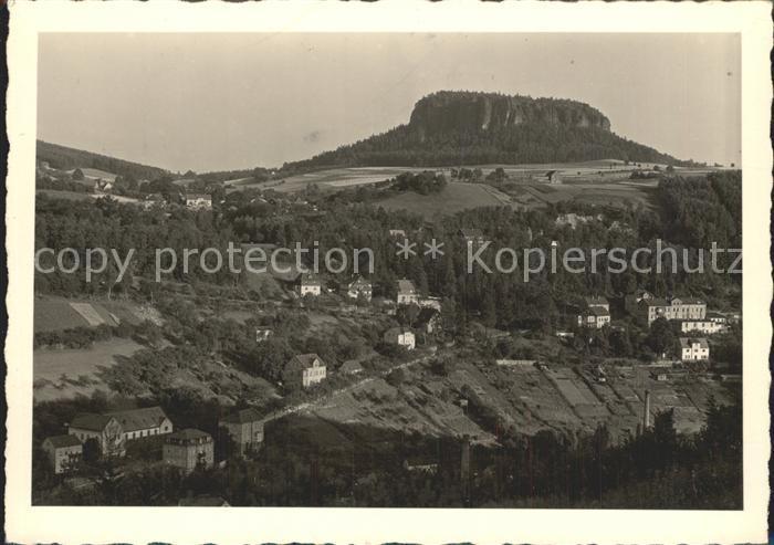 AK / Ansichtskarte Koenigstein Saechsische Schweiz Festung Stadt Kat. Koenigstein Saechsische Schweiz