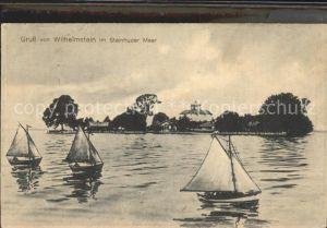 AK / Ansichtskarte Hagenburg Wilhelmstein Insel im Steinhuder Meer Wollmann Sammlung 1899 Kat. Hagenburg