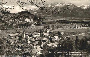 AK / Ansichtskarte Niederaudorf mit Kaisergebirge Kat. Oberaudorf