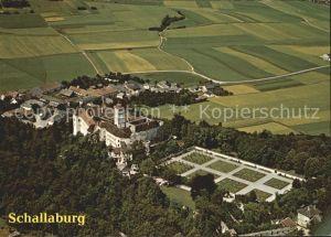 AK / Ansichtskarte Loosdorf Schloss Schallaburg Fliegeraufnahme Kat. Loosdorf