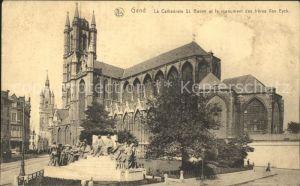 AK / Ansichtskarte Gand Belgien Cathedrale St. Bavon Kat. Gent Flandern