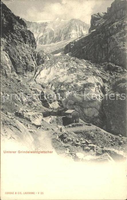 AK / Ansichtskarte Grindelwald Unterer Gletscher Kat. Grindelwald