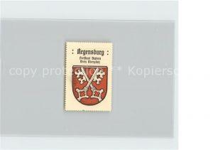 AK / Ansichtskarte Regensburg Wappen Kreis Oberpfalz Marke Kat. Regensburg