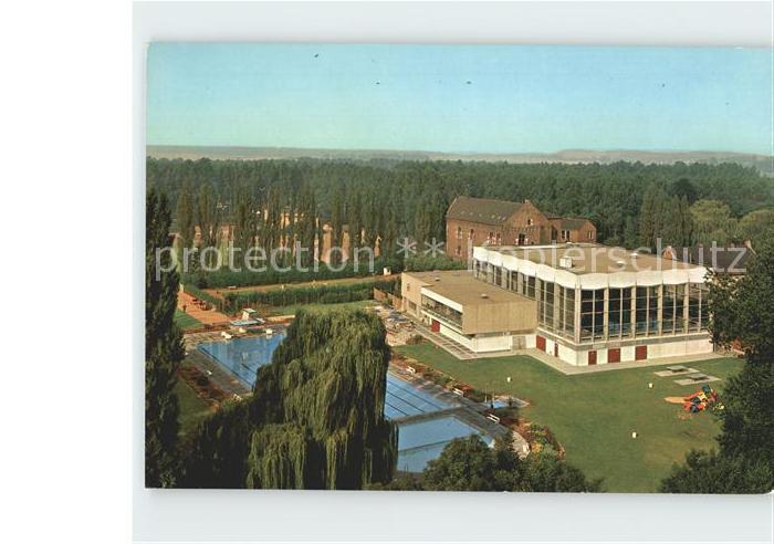 AK / Ansichtskarte Grevenbroich Schlossbad Fliegeraufnahme Kat. Grevenbroich