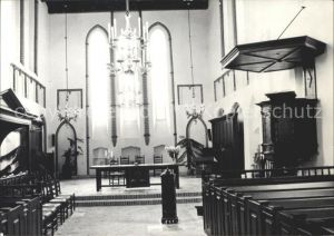 AK / Ansichtskarte Ten Boer Kloosterkerk interieur Kat. Ten Boer