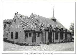 AK / Ansichtskarte Waardenburg Geref. Gemeente