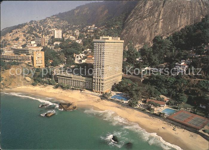AK / Ansichtskarte Rio de Janeiro Sheraton Hotel Fliegeraufnahme Kat. Rio de Janeiro