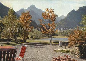 AK / Ansichtskarte Schwarzsee Sense Hotel Restaurant Gypsera Lac Noir  Kat. Schwarzsee