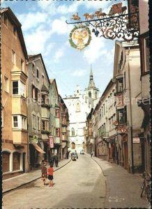 AK / Ansichtskarte Schwaz Tirol Franz Josef Strasse Kat. Schwaz
