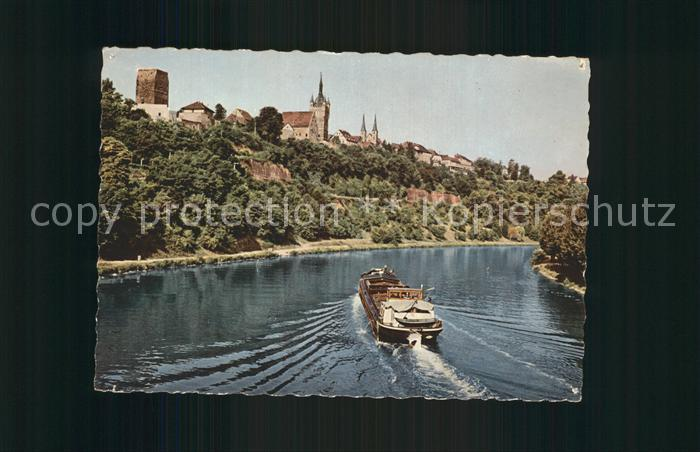 AK / Ansichtskarte Wimpfen Bad Neckar Schiff Kat. Bad Wimpfen