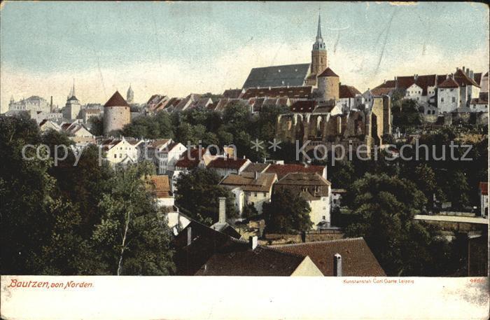 AK / Ansichtskarte Bautzen Altstadt Nicolairuine Kirche Kat. Bautzen
