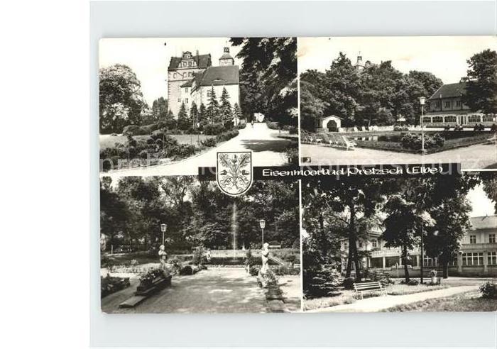 pretzsch an d elbe kinderheim elbf hre kulturhaus moorbad mehrbildkarte nr 369338 oldthing. Black Bedroom Furniture Sets. Home Design Ideas