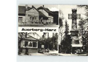 AK / Ansichtskarte Auerberg Harz Gaststaette Auerberg Josephskreuz Kat. Stolberg Harz