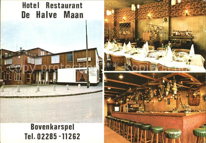 AK / Ansichtskarte Bovenkarspel Hotel Restaurant De Halve Maan