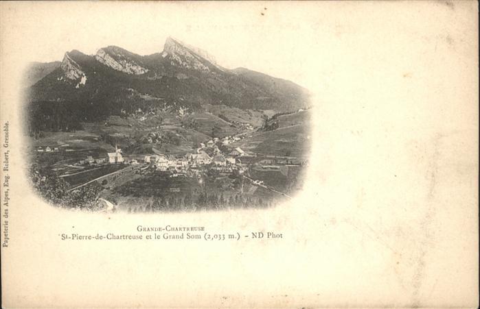 AK / Ansichtskarte Saint-Pierre-de-Chartreuse le Grand Som *