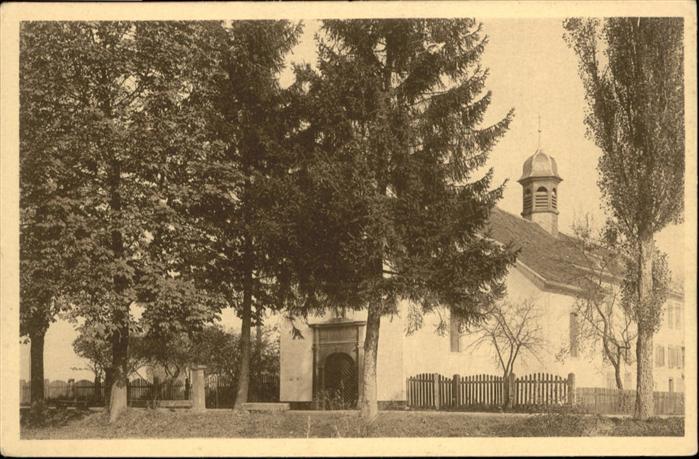AK / Ansichtskarte Kapelle Gebaeude Ill-Kapelle / Gebaeude /