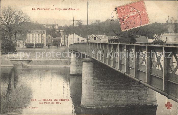 AK / Ansichtskarte Le Perreux sur Marne Le Pont de Bry Kat. Le Perreux sur Marne