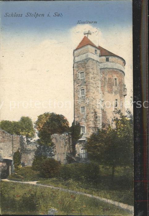 AK / Ansichtskarte Stolpen Schloss Stolpen Koselturm Kat. Stolpen