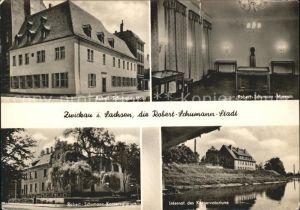 AK / Ansichtskarte Zwickau Sachsen Robert Schumann Haus Museum Internat Konservatorium Kat. Zwickau