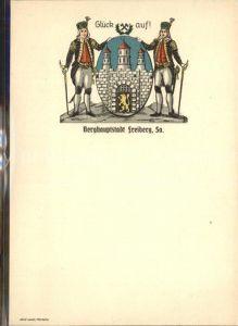 AK / Ansichtskarte Freiberg Sachsen Wappen Kat. Freiberg