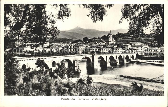 AK / Ansichtskarte Ponte da Barca Vista Geral