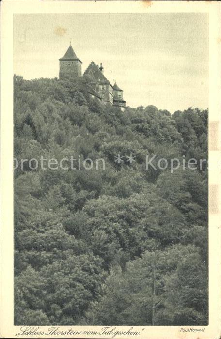 AK / Ansichtskarte Morstein Gerabronn Schloss Thorstein Serie Eine Reise durch Seelchens Reich Nr. 25