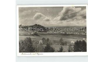 AK / Ansichtskarte Badenweiler mit Vogesen Kat. Badenweiler