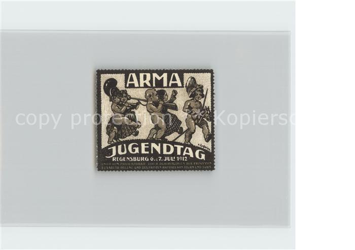 AK / Ansichtskarte Regensburg Arma Jugendtag Kat. Regensburg