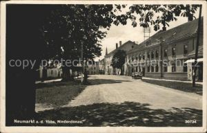 AK / Ansichtskarte Neumarkt Ybbs Niederdonau Strassenpartie / Neumarkt an der Ybbs /Mostviertel-Eisenwurzen