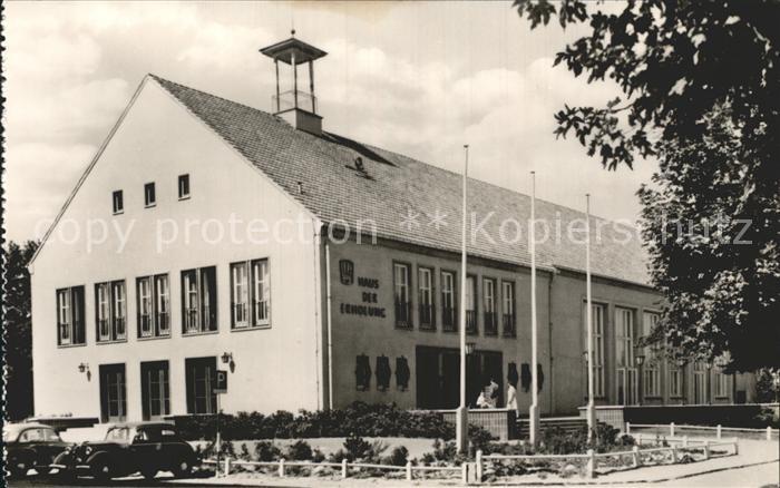 AK / Ansichtskarte Ahlbeck Ostseebad FDGB Erholungsheim Haus der Erholung Kat. Heringsdorf Insel Usedom