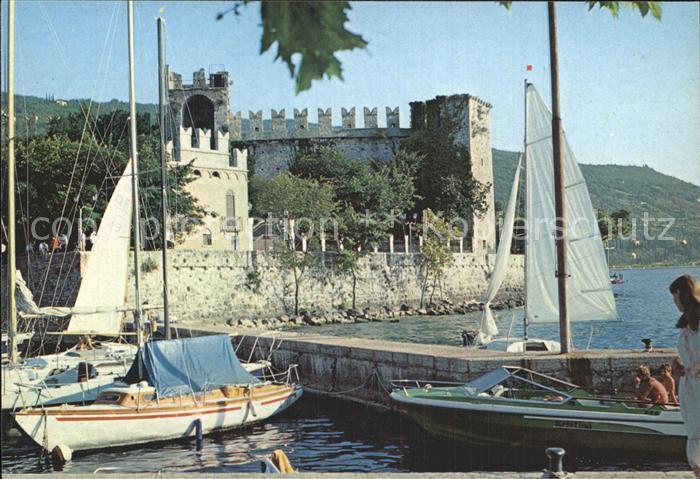 AK / Ansichtskarte Gardasee Lago di Garda Torre del Benaco Burg Kat. Italien