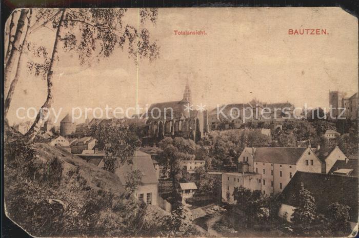 AK / Ansichtskarte Bautzen Altstadt Kirche Schloss Ortenburg Kat. Bautzen