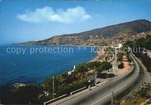 AK / Ansichtskarte Ospedaletti Imperia Panorama del golfo sfondo Capo S Ampelio Riviera dei Fiori Kat. Imperia