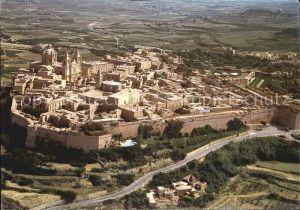 AK / Ansichtskarte Mdina Malta Ancient Capital of Malta Citta Vecchia veduta aerea Kat. Malta