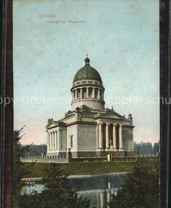 AK / Ansichtskarte Dessau Rosslau Herzogliches Mausoleum Kat. Dessau Rosslau