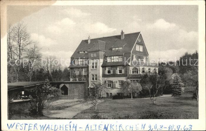 AK / Ansichtskarte Altenkirchen Westerwald Westerwaldheim Kat. Altenkirchen (Westerwald)