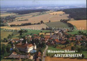 AK / Ansichtskarte Aistersheim Wasserschloss Luftaufnahme Kat. Aistersheim