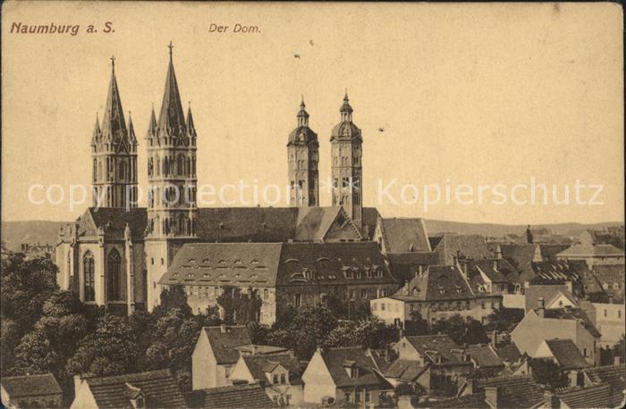 AK / Ansichtskarte Naumburg Saale Der Dom Kat. Naumburg