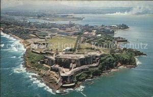 AK / Ansichtskarte San Juan Puerto Rico Fortress El Morro aerial view Kat. San Juan