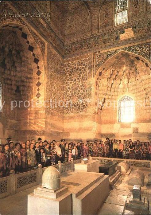 AK / Ansichtskarte Samarkand Kirche innen Kat. Samarkand