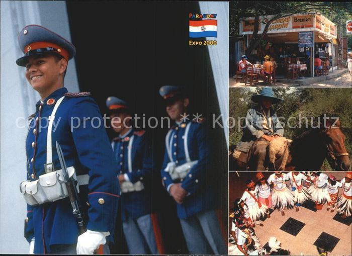 AK / Ansichtskarte Paraguay Soldaten Vokstanz Kat. Paraguay