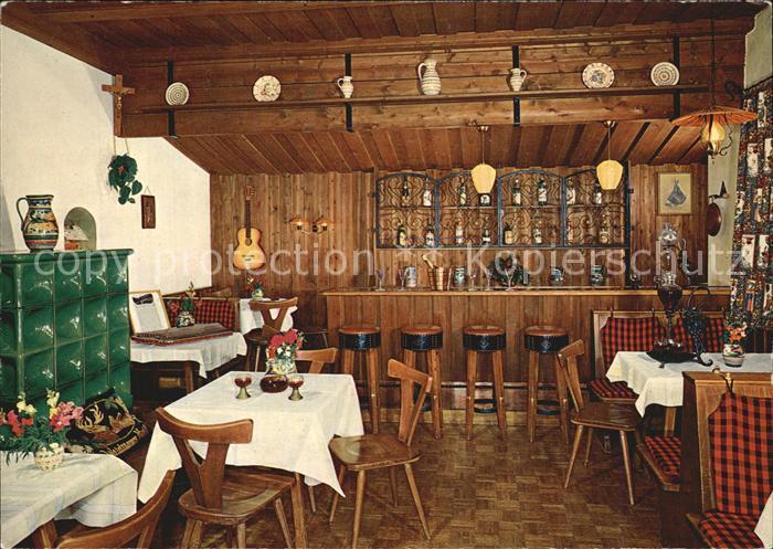AK / Ansichtskarte Thiersee Postgasthof und Pension Bar Kat. Thiersee