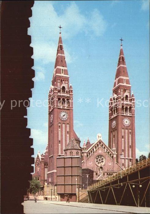 AK / Ansichtskarte Szeged Fogadalmi templom Votivkirche Kat. Szeged
