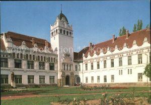 AK / Ansichtskarte Sarospatak Tanitokepzoe Lehrerbildungsanstalt Kat. Ungarn