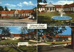 AK / Ansichtskarte Wanne Eickel Sol und Thermalbad Springbrunnen Kat. Herne