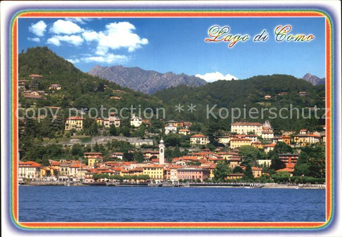 AK / Ansichtskarte Menaggio Lago di Como Ansicht vom Comersee aus Kat.