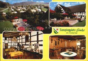 AK / Ansichtskarte Extertal Campingplatz Eimke Panorama Gastraeume Terrasse Kat. Extertal