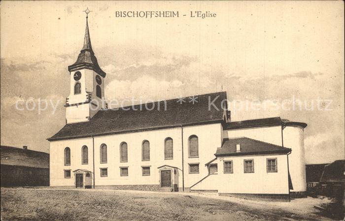 AK / Ansichtskarte Bischoffsheim Eglise Kirche Kat. Bischoffsheim
