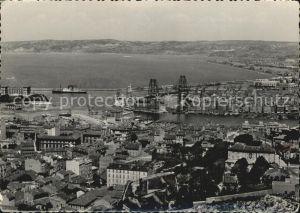 AK / Ansichtskarte Marseille Vue panoramique Entree du Port Hafen Kat. Marseille